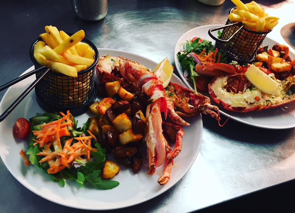 lobster-with-chorizo-and-halloumi